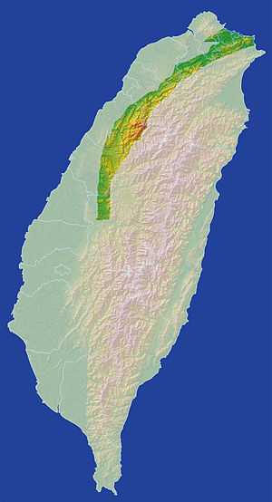 Jialishan Range - Image: Taiwan Jialishan Range