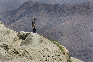 The Border Guard of Tajikistan.