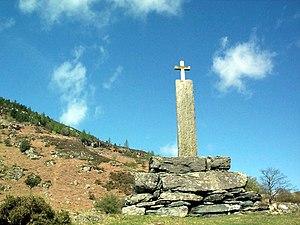 Llanrhychwyn - The Taliesin monument, overlooking Llyn Geirionydd