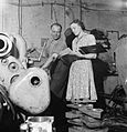 Tank Factory- the Construction of Matilda Tanks, 1942 D9200.jpg