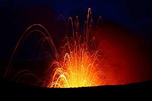 Tanna (island) - Image: Tanna Volcano