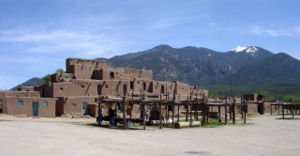 Antonio de Espejo - Taos Pueblo today still resembles the towns Espejo visited in the Rio Grande Valley of New Mexico.