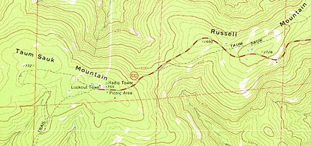 Ozark Mountains Topographic Map.Russell Mountain Wikipedia