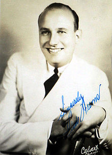 Ted Weems publicity photo