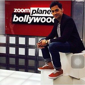 Teeshay Shah - Teeshay on sets of Planet Bollywood.