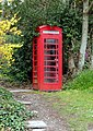 Telephone Box at Rockcliffe - geograph.org.uk - 767542.jpg