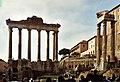 Tempio dii Saturno; Tempio di Vespasiano e Tito.jpg
