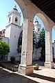 Templo de la Santísima Trinidad, Tlaxcala, Tlax. México. (vista desde el atrio interior 1).jpg