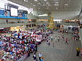 Temporary market at Toa Payoh MRT Station, Singapore - 20131231.jpg