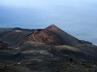 Teneguía Volcano on La Palma (Canary Islands)