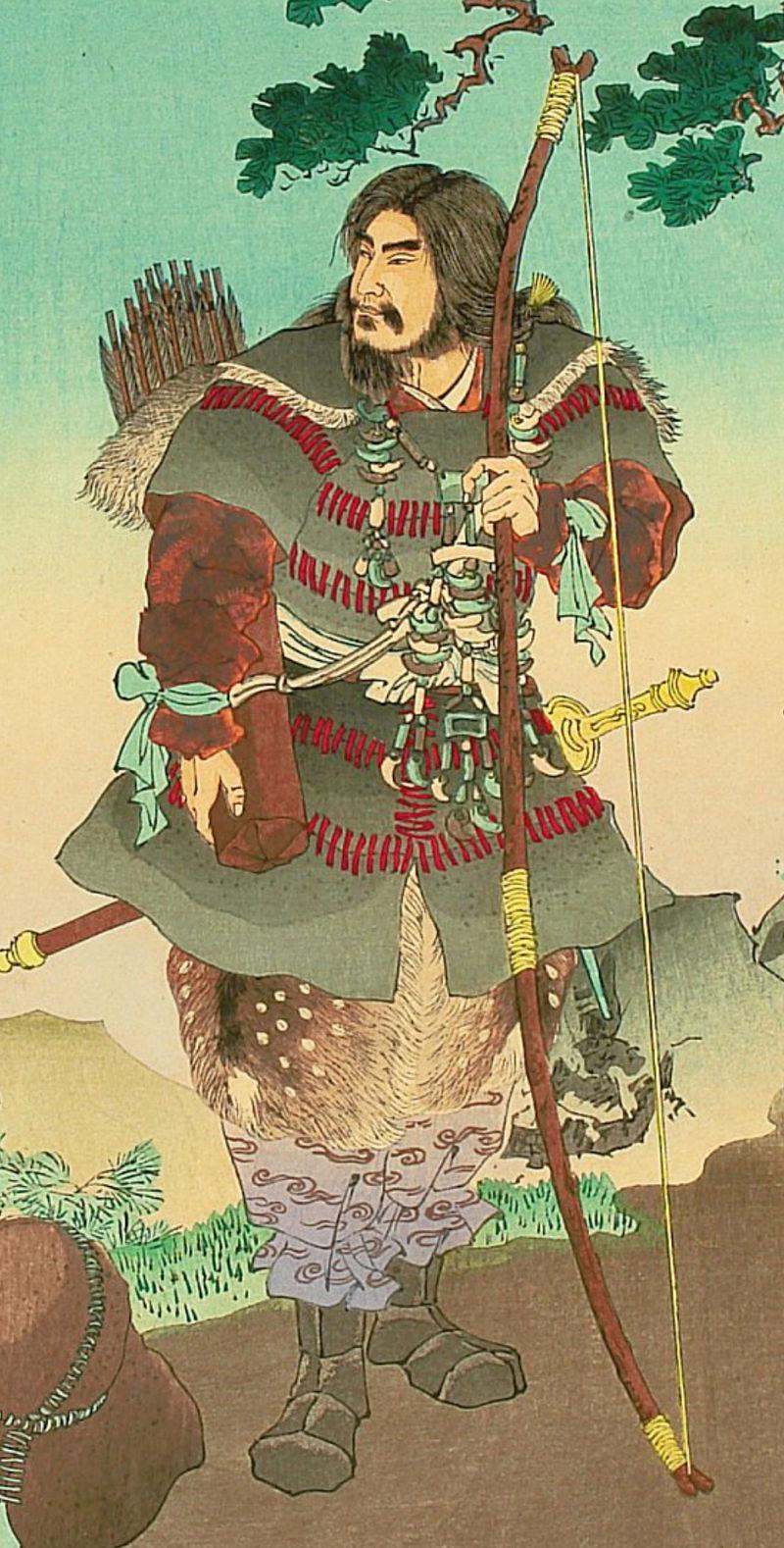 Tennō Jimmu detail 01.jpg