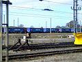 Tesco train at Kingmoor, 28 March 2011.jpg