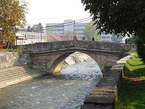 Tetovo - One of Tetovo's remaining stone bridges