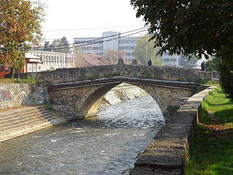 Tetovo - One of Tetovo's remaining stone bridges