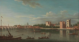 Thames at Lambeth Palace