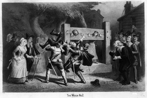 &quotThe Witch, No. 2&quot, c. 1892 lithograph by Joseph E. Baker - Witch trials in the early modern period