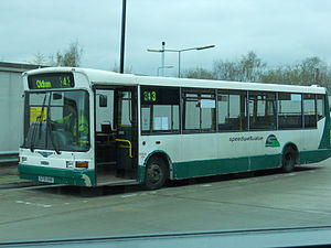 Speedwellbus - A Marshall bodied Dennis Dart on service 342 in May 2010