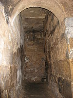 The 7th C Crypt, Hexham Abbey - monks' passage - geograph.org.uk - 731646.jpg