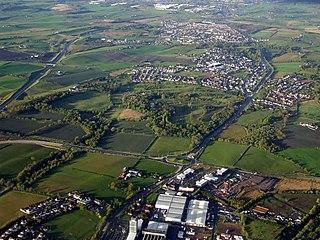 Garnkirk village in United Kingdom