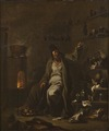 The Alchemist (Alessandro Magnasco) - Nationalmuseum - 21278.tif
