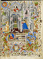 The Annunciation - Book of Hours (c.1407), f.20 - BL Add MS 29433.jpg