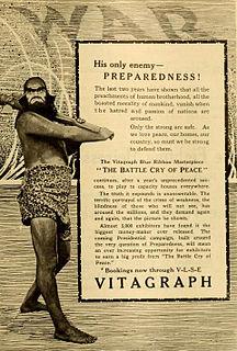 <i>The Battle Cry of Peace</i> 1915 film by J. Stuart Blackton, Wilfrid North