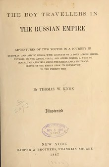 The Boy Travellers in the Russian Empire.djvu