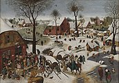 The Census at Bethlehem by Pieter Brueghel (II) Bonnefantenmuseum 677.jpg