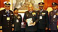 The Chief of Army Staff, General Bipin Rawat commemorating the Armed Forces Flag Day, in New Delhi on December 07, 2017.jpg