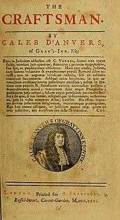 <i>The Craftsman</i> (newspaper) 18th-century British newspaper