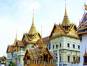 Grand Palace in Bangkok built in 1782, is the ...