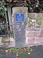 The Heswall Society plaque.JPG