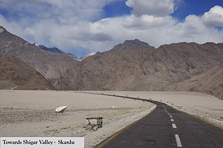 Shigar Valley Place in Gilgit-Baltistan, Pakistan