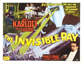 Description de l'image The Invisible Ray poster.jpg.