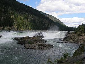 Troy, Montana - The Kootanai Falls, Troy, Montana