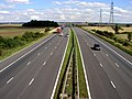 The M180 from the Beltoft to Althorpe road bridge - geograph.org.uk - 225880.jpg