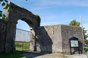 Crinkill Barracks - Entrance to Crinkill Barracks