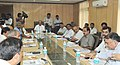 The Minister of State (Independent Charge) for Consumer Affairs, Food and Public Distribution, Professor K.V. Thomas chairing a meeting to discuss issue of misleading advertisements, in New Delhi on August 04, 2011.jpg