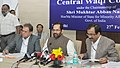 The Minister of State for Minority Affairs (Independent Charge) and Parliamentary Affairs, Shri Mukhtar Abbas Naqvi addressing the 75th meeting of Central Waqf Council, in New Delhi on February 27, 2017.jpg