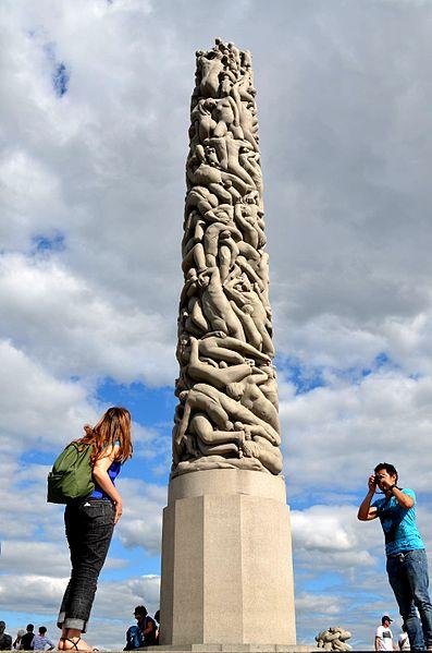 File:The Monolith - Vigeland Park, Oslo.jpg