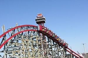English: Image provided by Six Flags Over Texa...