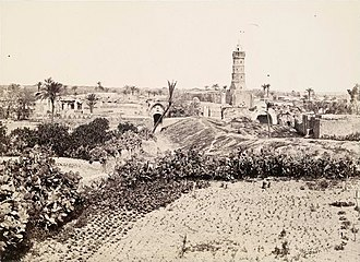 Gaza City - The Old Town, Gaza (1862-1863). Picture by Frances Frith