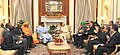 The Prime Minister, Shri Narendra Modi meeting the President of Niger, Mr. Mahamadou Issoufou, during the 3rd India Africa Forum Summit, in New Delhi on October 28, 2015 (2).jpg