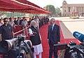 The Prime Minister, Shri Narendra Modi with the Prime Minister of Malaysia, Dato' Sri Mohd Najib Bin Tun Abdul Razak at the ceremonial reception, at Rashtrapati Bhavan, in New Delhi on April 01, 2017 (1).jpg