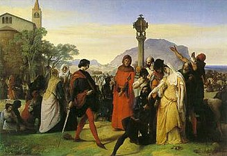 The Sicilian Vespers by Francesco Hayez.jpg
