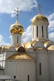 The Trinity Cathedral Troitse Sergiyeva Lavra