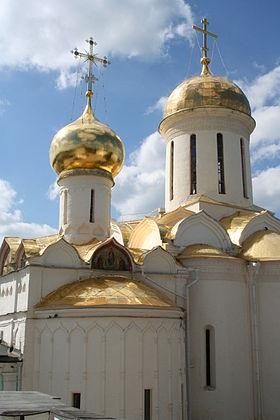 Троицкий собор троице сергиева