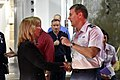The USA's Secretary of the Air Force visits Cheyenne Mountain, 2015-05-27, 150527-F-VT441-016 (18198474695).jpg