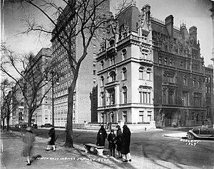 Jewish Museum (Manhattan) - The Warbug House photographed by William Roege, 1929