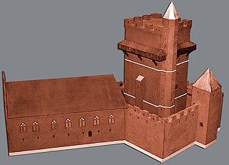 Kärnan - Image: The castel Karnan Helsingborg Sweden